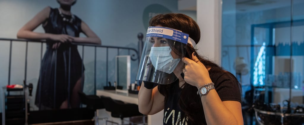 Hairstylists Wearing Goggles at the Salon Amid Coronavirus
