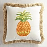 Pineapple Embroidered Pillow