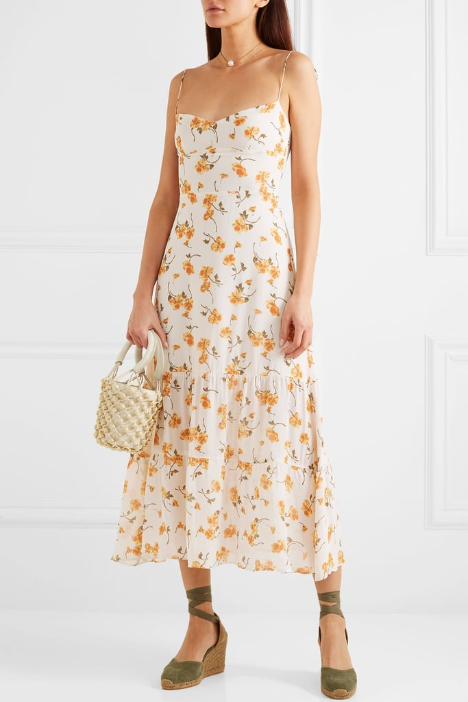 Reformation Emmie Floral-Print Georgette Midi Dress ($420.62)