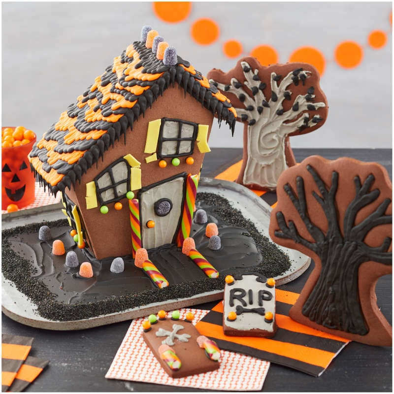 Shop Wilton's Chocolate Haunted House Cookie Kit For Kids