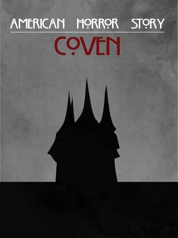 American Horror Story Coven Poster ($11)