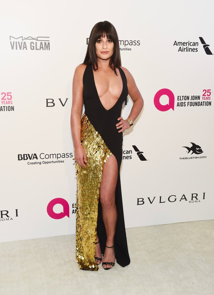 What Will Lea Micheles Wedding Dress Look Like Popsugar Fashion