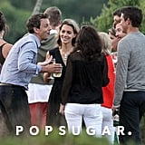 Seth Meyers was the life of the party at his wedding in Martha's Vineyard.