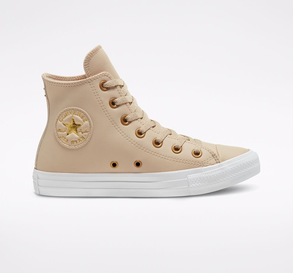 Converse Faux Leather Chuck Taylor All Star Sneakers