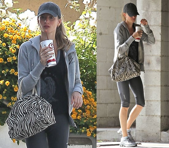 Pictures of Gisele Bundchen Working Out