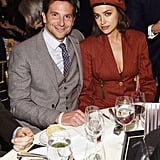 Irina Shayk Red Blazer Dress With Bradley Cooper