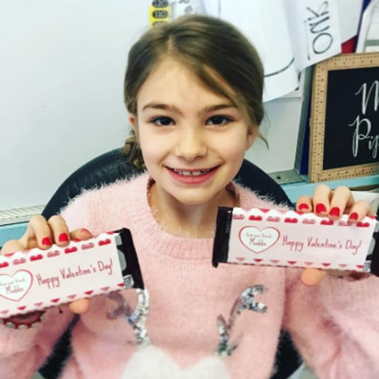 Jamie Lynn Spears's Daughter, Maddie on Valentine's Day 2017