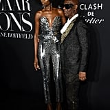 Maria Borges and Dapper Dan at the Harper's Bazaar ICONS Party