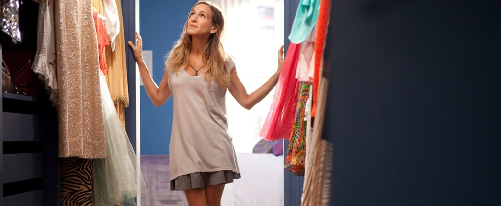 Carrie Bradshaw's Work From Home Outfits on Sex and the City