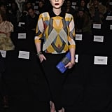 Michelle Trachtenberg at NYFW