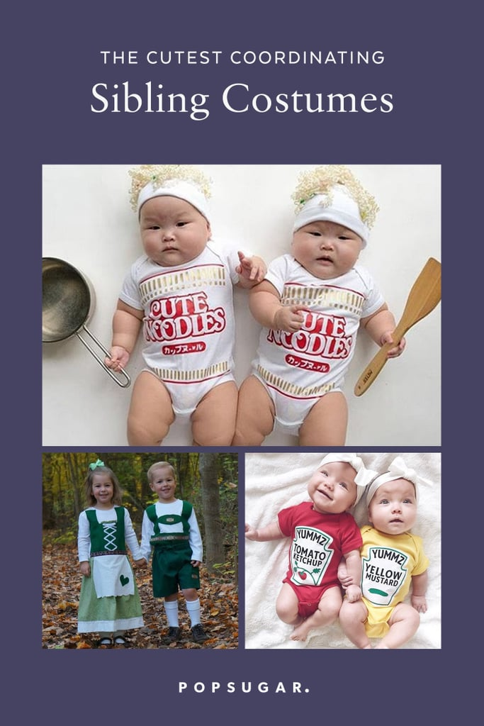 Coordinating Sibling Costumes For Halloween