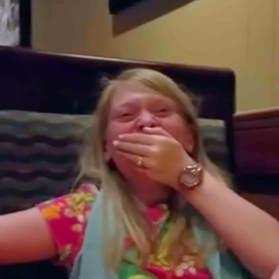 Girl Finds Out She's Going to Be a Big Sister