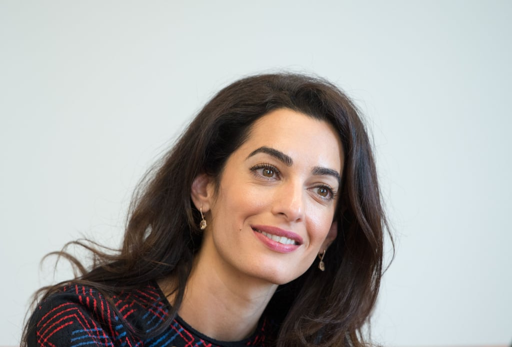 amal clooney sonia rykiel plaid suit september 2016 popsugar fashion uk photo 4. Black Bedroom Furniture Sets. Home Design Ideas