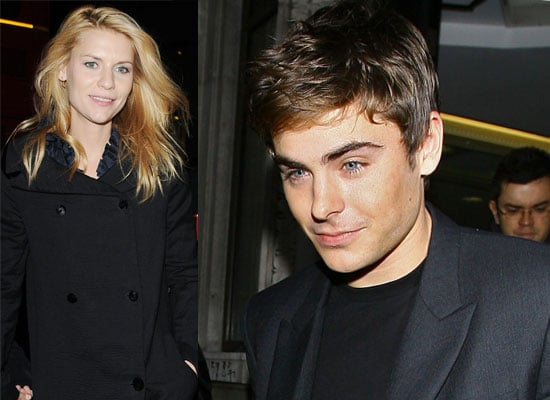 Photos of Zac Efron and Claire Danes Promoting Me and Orson Welles in the UK