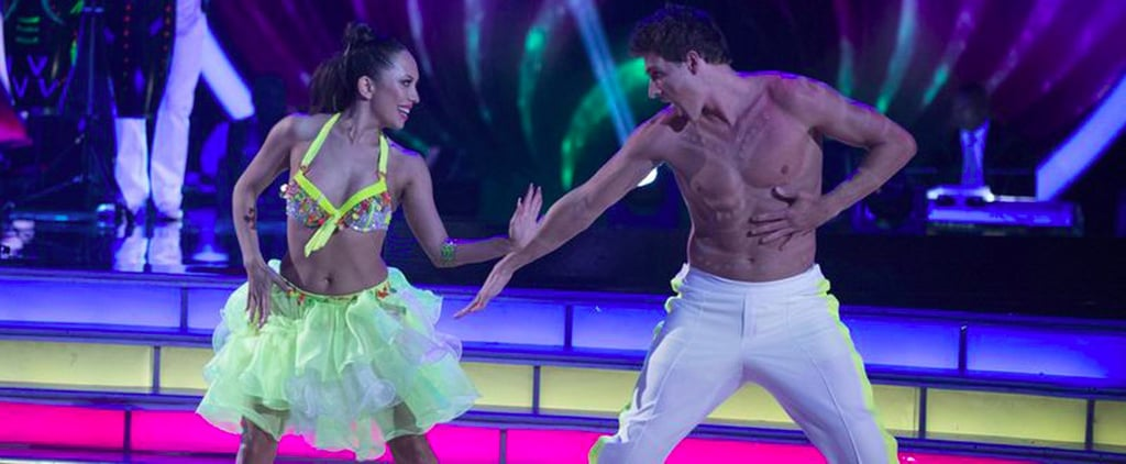 Ryan Lochte Flashes His Impeccable Abs After Stripping Down on DWTS