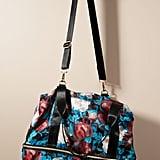 Anthropologie Overlay Weekender Bag