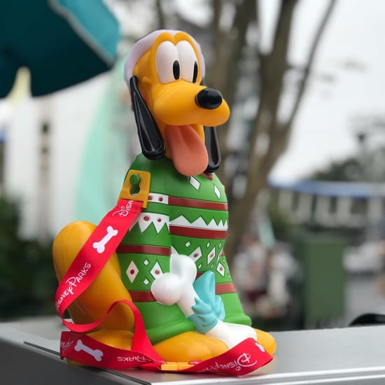 Pluto Disney Holiday Popcorn Bucket