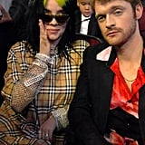 Billie Eilish and Finneas O'Connell at the 2019 American Music Awards