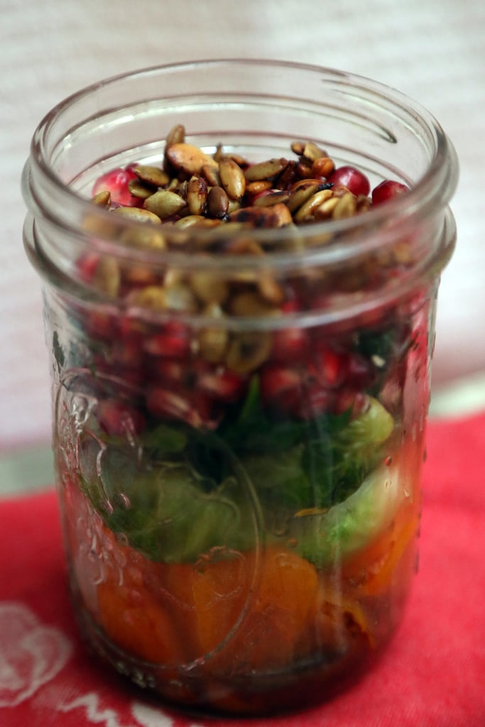 Butternut Squash and Brussels Sprouts Salad With Pomegranate