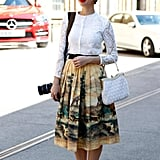 If You're Pear Shaped: Wear an A-line Skirt