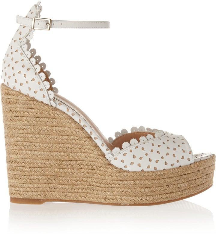 Tabitha Simmons Harp Wedge Sandals
