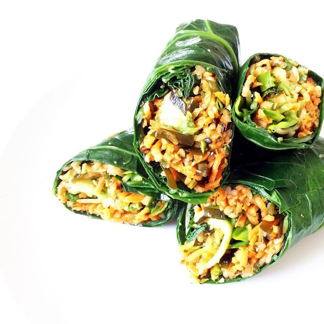 Low-Carb Veggie Wrap Recipes