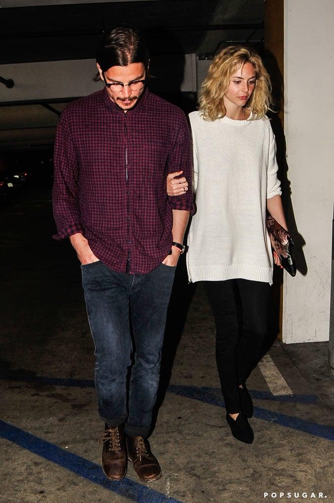 Josh Hartnett and His Girlfriend on a Date
