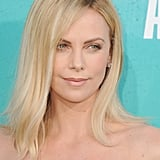 Charlize Theron looked stunning as always.