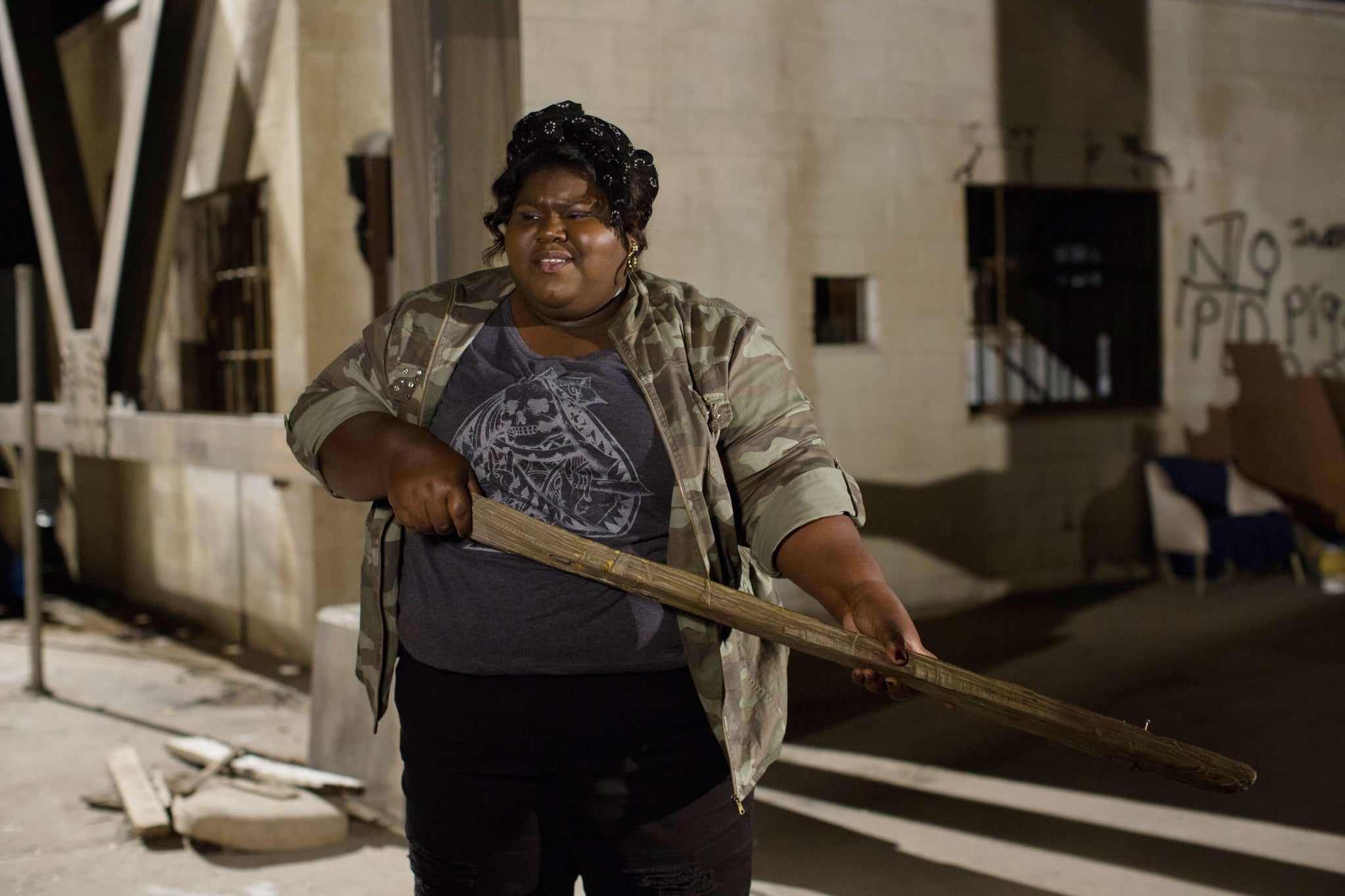 AMERICAN HORROR STORY: COVEN, Gabourey Sidibe in 'The Sacred Taking' (Season 3, Episode 8, aired December 4, 2013). ph: Michele K. Short/FX Networks/courtesy Everett Collection