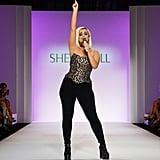 Bebe Rexha at the Sherri Hill Spring/Summer 2020 Show