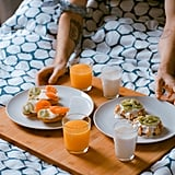 Greet the morning with homemade breakfast in bed.