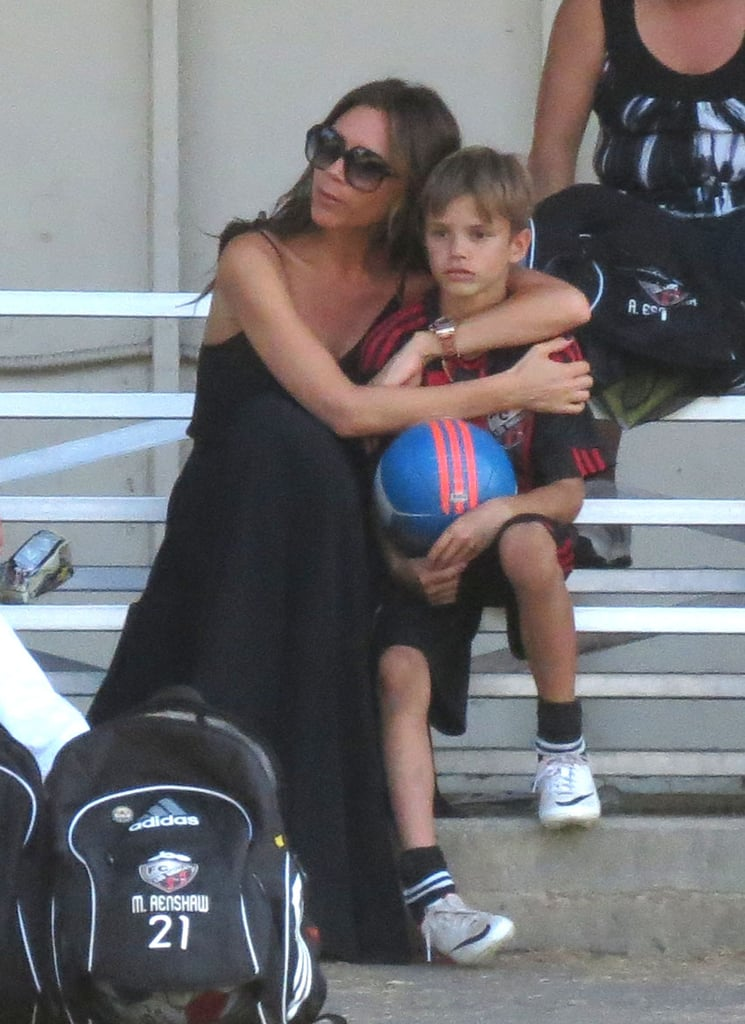 Victoria Beckham's destiny as a soccer mom was written long before she had kids. Given her experience cheering on her husband, she knows a thing or two about supporting her lil players through wins and losses and spending her weekends cheering on the team.