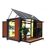 Expandable Container House With Solar Energy