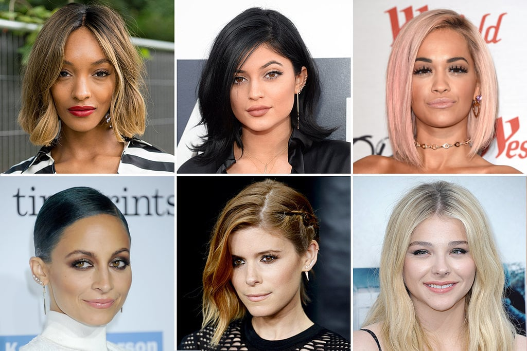 Different Celebrity Hair Colours
