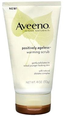 Doing Drugstore: Aveeno Positively Ageless Warming Scrub
