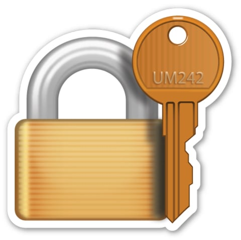 This Lock Emoji Corresponds With An Actual Key Weird Emoji