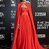 Sarah Jessica Parker at the Moscow premiere of I Don't Know How She Does It.