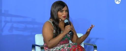 Mindy Kaling Interview at POPSUGAR Play/Ground