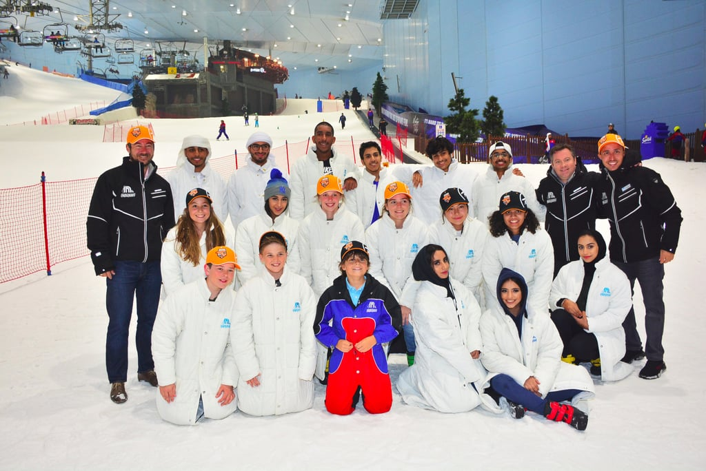 Ski Dubai Announces First Sponsored Snowsports Team
