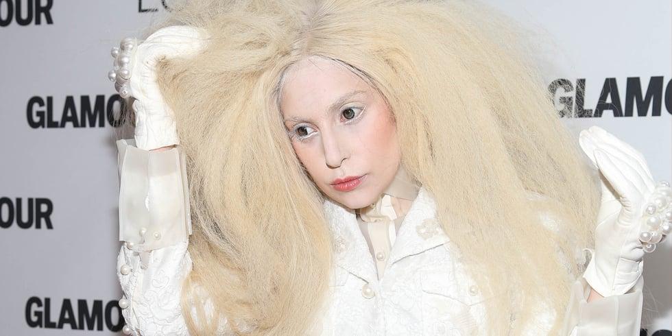 Lady Gaga's Nest Wig Moments 2013