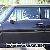Kristen Stewart wore a baseball hat.
