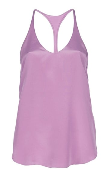 We love how Phillip Lim balanced the prettiest pastels with this sportier silhouette. We'd wear it with white denim to let the cool hue pop.  3.1 Phillip Lim Racer Back Top ($260)