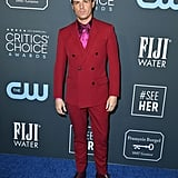 Andrew Scott Wearing Valentine's Day Colours at the Critics' Choice Awards
