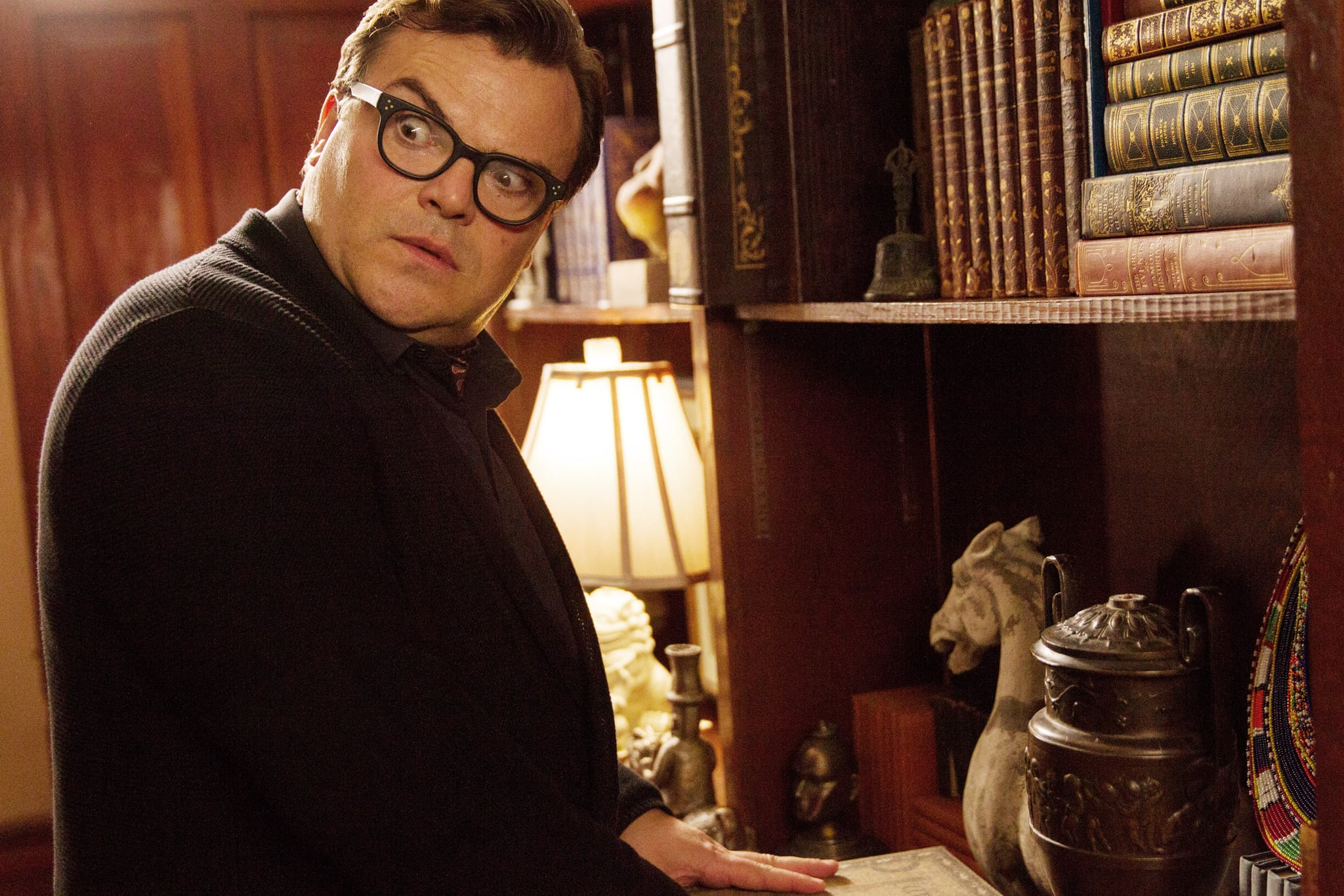 GOOSEBUMPS, Jack Black, 2015. ph: Hopper Stone/Columbia Pictures/courtesy Everett Collection