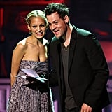 Nicole Richie and Joel Madden got on stage at the 2008 annual Environmental Media Awards in LA.