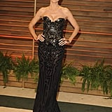 Heidi Klum stunned at the bash.