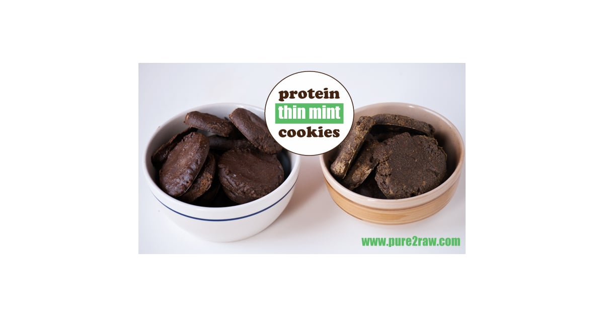 Protein Thin Mints Raw Gluten Free Low In Sugar