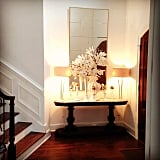 The finds: these gorgeous lamps and various autumnal decor pieces.
