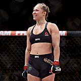 She broke her own UFC Championship record.