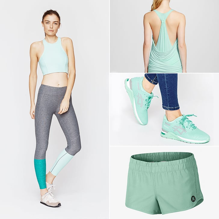 Minty Fresh The Perfect Spring Activewear Color And 38 Ways To Wear It